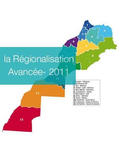 Rapport de la CCR sur la Régionalisation Avancée- 2011