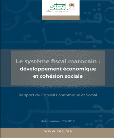 Rapport du CESE sur le Système Fiscal Marocain- 2012