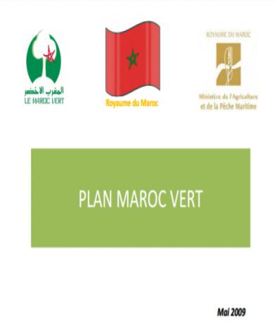 Plan Maroc Vert- 2009
