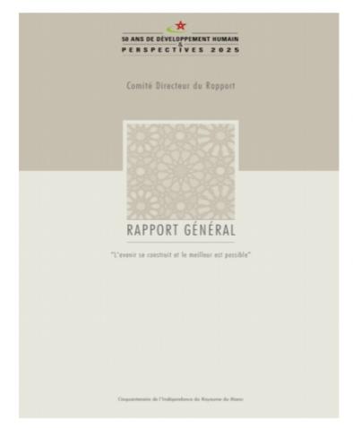 Rapport Général du cinquantenaire sur le Développement Humain- 2005